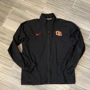 NIKE Men's OSU Beavers Full Zip Jacket Size Medium